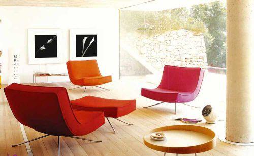 创意个性现代客厅设计