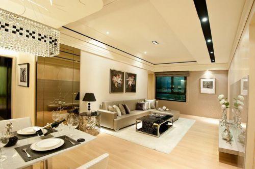 精致优雅时尚现代风格客厅装潢