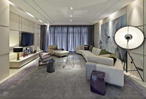 2016简洁明快现代风格客厅设计