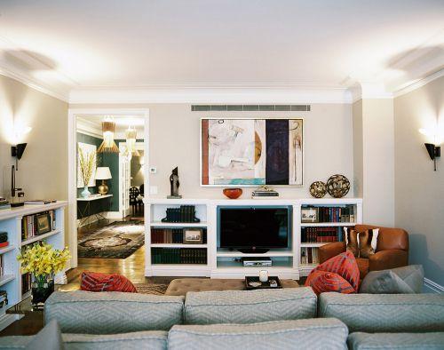 现代风格浪漫白色客厅装修赏析