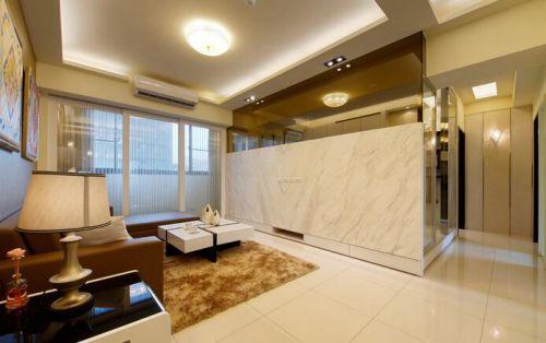 2016温馨浪漫现代风格客厅装修布置