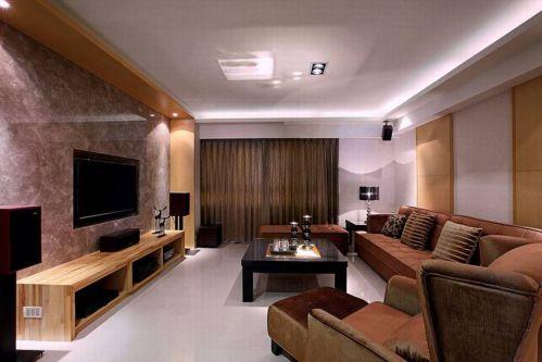 时尚现代风格客厅设计案例