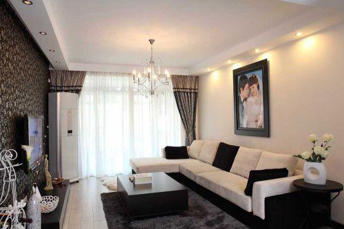 现代古典雅致客厅装潢设计