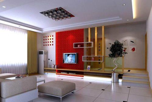 大气雅致现代风格客厅装潢美图展示