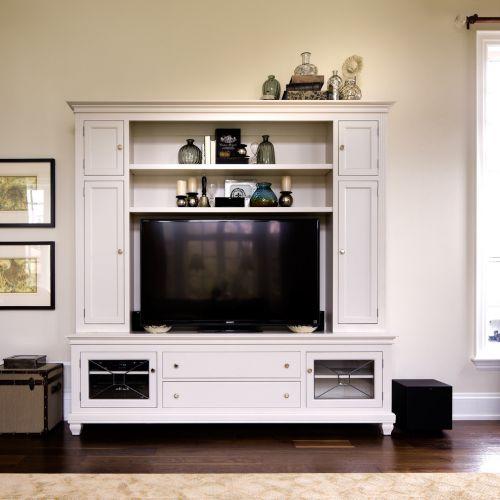 现代风格质感白色客厅装饰设计图片