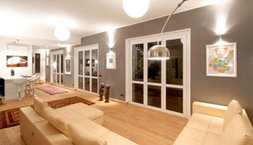 现代时尚简洁客厅装修案例