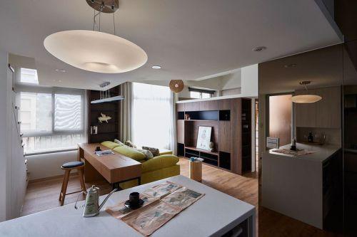 清新淡雅现代客厅装潢装修设计