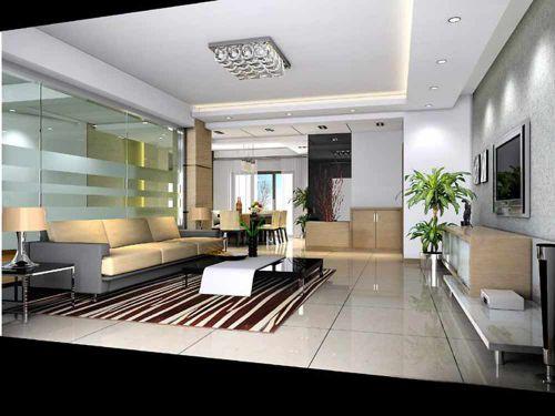 精致现代风格客厅家装展示
