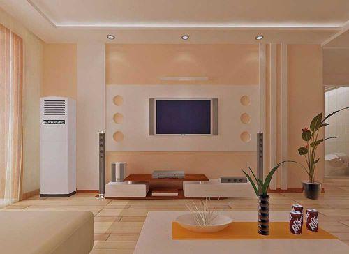 轻盈时尚现代风格客厅布置