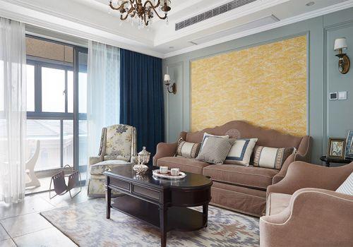 清新欧式风格客厅装修设计