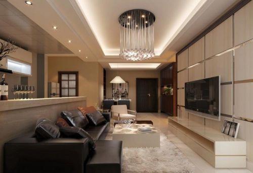 雅致轻盈现代风格客厅装修设计欣赏