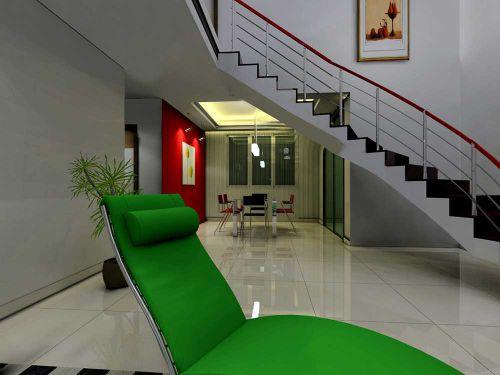 时尚元素现代风格客厅局部装饰
