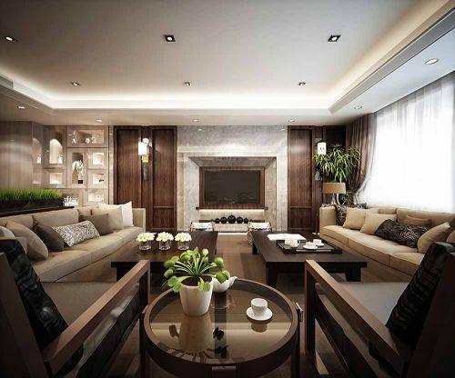 质感现代客厅装修效果展示