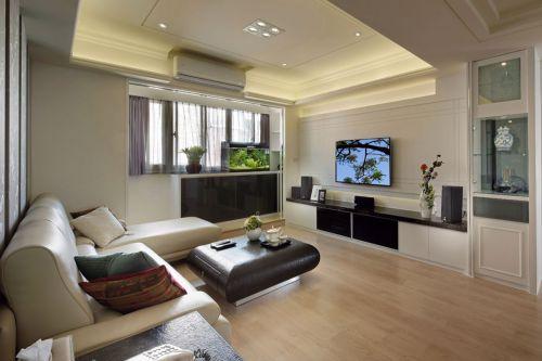 雅致现代客厅装潢装饰设计图片