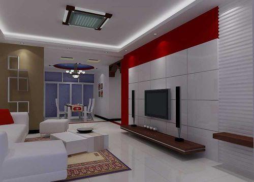 现代时尚客厅装修设计欣赏