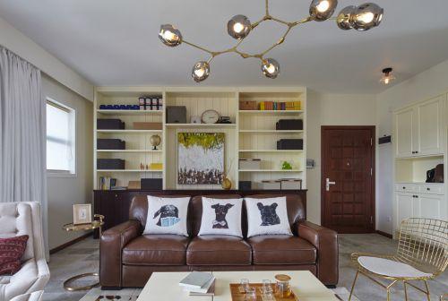 现代摩登经典客厅装修设计