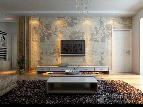 时尚精致典雅现代风格客厅装修效果图