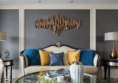 创意欧式沙发背景墙设计