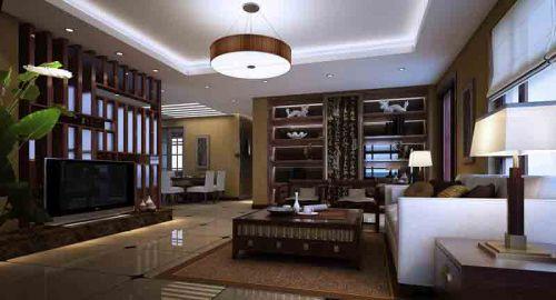 中式现代客厅设计