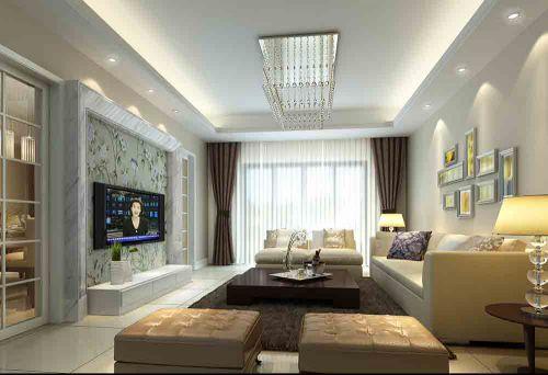 现代客厅装修效果设计欣赏
