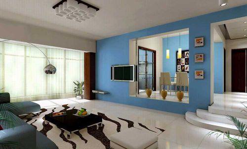 现代清新客厅装潢设计