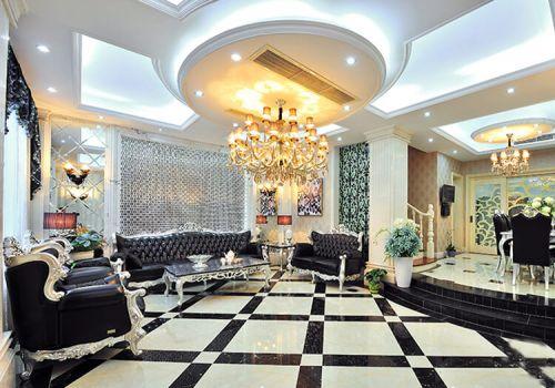 豪华欧式客厅吊顶设计