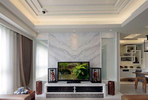 米色现代时尚客厅装修案例