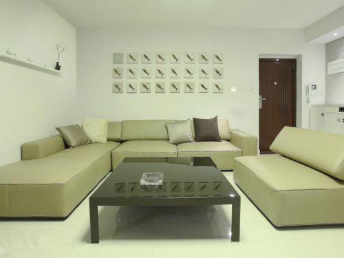 2016现代简约客厅装修设计图