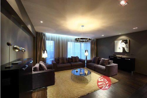 精致温馨现代风格客厅装潢