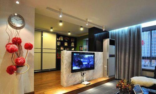 随性大方现代风格客厅装修设计