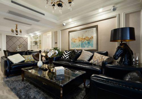 优雅欧式风格客厅装修设计