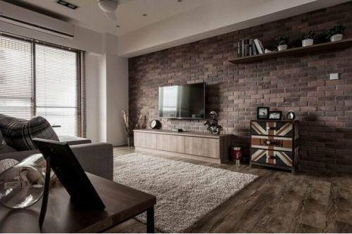英伦范精美现代风格客厅装修图片