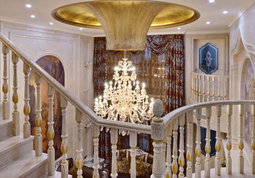 奢华欧式客厅吊顶欣赏
