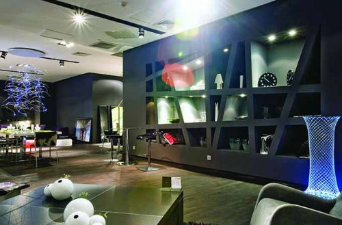现代创意客厅装修效果图