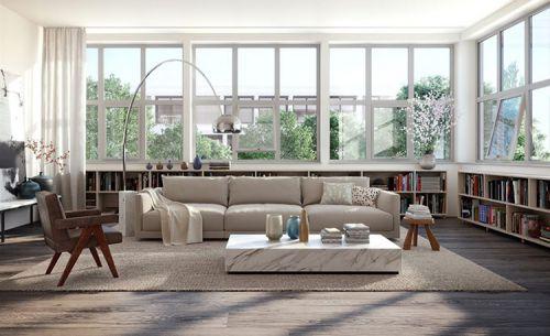 现代时尚风格客厅设计图