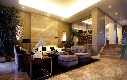 雅致现代客厅设计欣赏