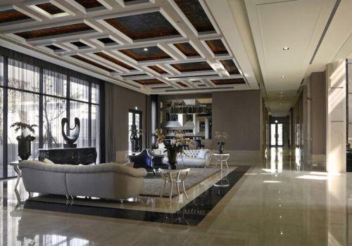 精致欧式客厅吊顶设计