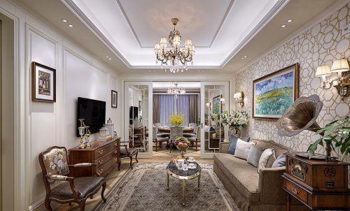精美气质优雅欧式华丽客厅设计