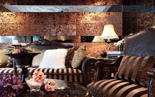 奢华靓丽欧式风格客厅装潢欣赏
