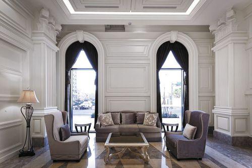 奢华浪漫古典风格欧式客厅设计欣赏
