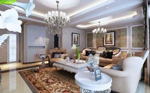 精致优雅欧式风格客厅装潢