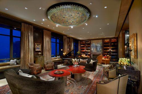 2016奢华大气欧式风格客厅装潢装饰案例