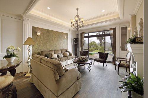 浪漫时尚欧式风格客厅装修案例