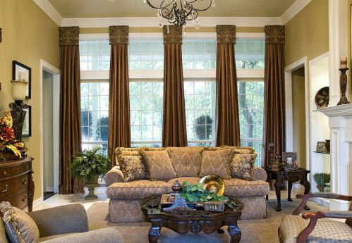精致优雅欧式风格客厅装潢装修