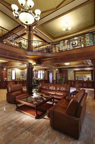 大气奢华时尚欧式风格客厅图片