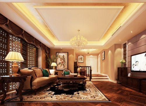 新古典风格客厅装饰图