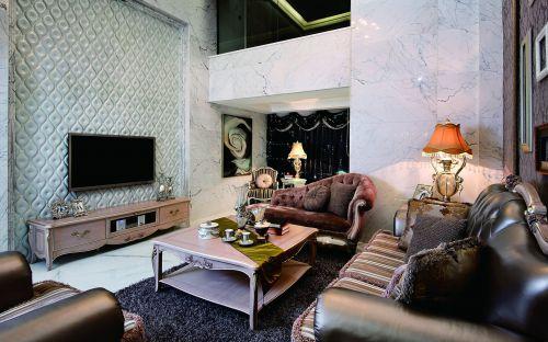 欧式华丽客厅设计欣赏