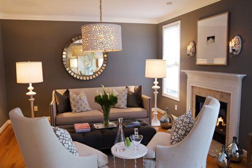 精致优雅欧式风格客厅装潢欣赏