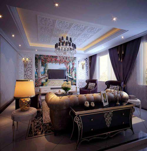 2016摩登欧式客厅装潢设计