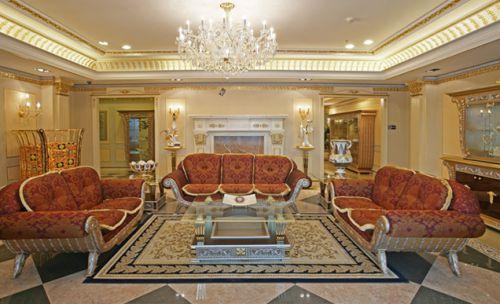 欧式奢华客厅装饰设计图片